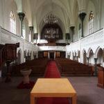 Innenraum, Blick zur Orgel, 2020, Foto: Wolfram Kändler, CC BY-SA 3.0 de