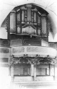 Orgel, vor 1934