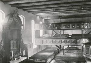 Kirche, Innenansicht, Bildarchiv: Niedersächsisches Landesverwaltungsamt Hannover, Landeskonservator
