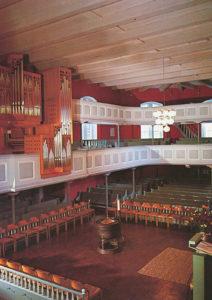 Kirche, Innenansicht, nach 1976