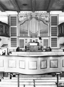Orgel, vor 1976