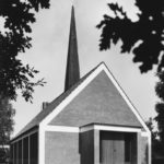 Friedhofskapelle, Außenansicht, 1968