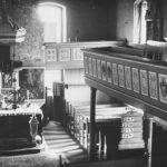 Kirche, Blick zum Altar, vor 1950