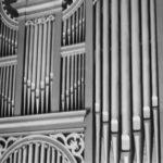 Orgel, Teilansicht, vor 1961