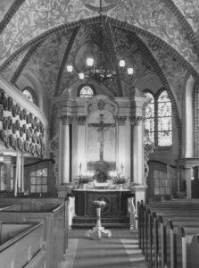 Blick in den Chorraum, nach 1920, vor 1963
