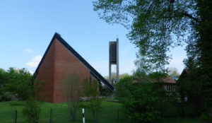 Stephanuskirche, Ansicht von Südosten, 2021, Foto: Wolfgang Kannenberg