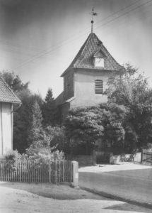 Kirche, Ansicht von Nordwesten, 1951
