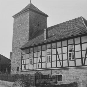 Kapelle, Ansicht von Südosten, 1961