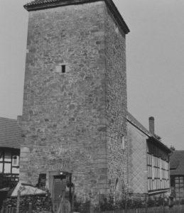 Kapelle, Ansicht von Südwesten, 1961
