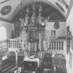 Kirche, Blick zum Altar, wohl vor 1967