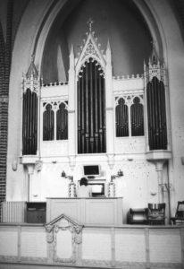 Orgel, vermutlich 1978