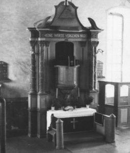 Kanzelaltar, 1950
