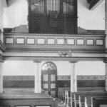 Kirche, Blick zur Orgel, vor 1959, bzw. vor 1954