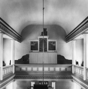 Orgel, nach 1954, vor 1959