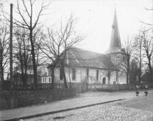 Kirche, Ansicht von Nordosten, 1905