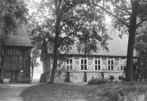 Kirche, Ansicht von Südwesten, 1957