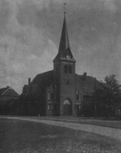 Kirche, Ansicht von Nordwesten, 1931