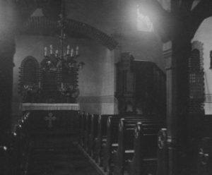 Kirche, Blick zu Altar, 1931