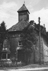 Kapelle, Außenansicht, um 1960