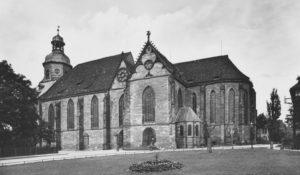 Kirche, Ansicht von Südosten, um 1952