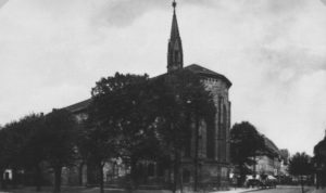 Alte Kirche, Außenansicht, um 1953