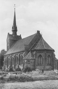 Kirche, Außenansicht, 1949