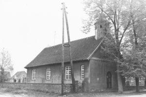 Kirche, Ansicht von Nordwesten, 2. Hälfte 20. Jh.
