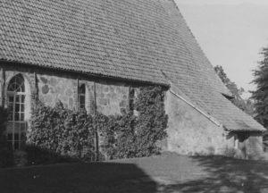 Kirche, Ansicht von Südosten, 1950 (?)
