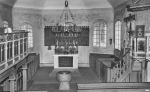 Kirche, Blick zum Altar, nach 1942