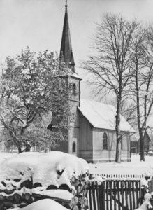 Kirche, Außenansicht, 1956