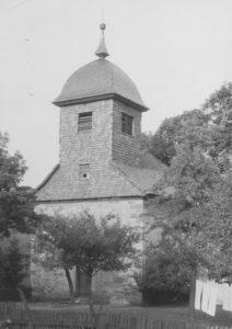 Kirche, Außenansicht, um 1951