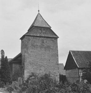 Kirche, Ansicht von Nordwesten, 1961