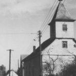 Kapelle, Ansicht von Nordwesten, um 1953