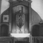 Kapelle, Blick zum Altar, um 1953