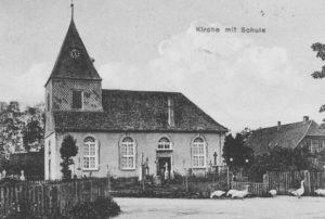 Kirche, Ansicht von Südwesten, 1919