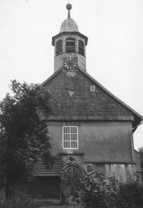 Kirche, Ansicht von Westen, um 1953