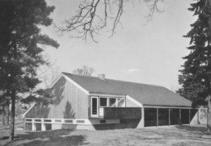 Gemeindezentrum, Außenansicht, vor 1981