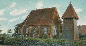 Kirche, Ansicht von Nordwesten, 1906