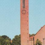 Neue Martin-Luther-Kirche (erbaut 1954–58), Ansicht von Westen, Teilansicht, 1972