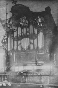 Alte Kirche, Orgel, vor 6./7. Juni 1942