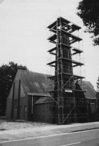 Kirche, Außenansicht, um 1980