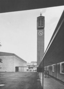 Johanneskirche, Ansicht von Südwesten, Teilansicht