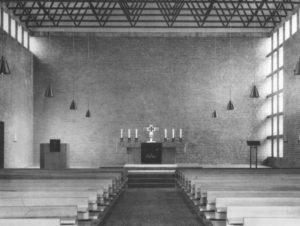 Johanneskirche, Blick zum Altar