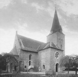 Kirche, Ansicht von Nordosten, 1928