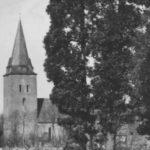 Kirche, Ansicht von Südwesten, 15. März 1934