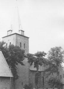 Kirche, Ansicht von Südwesten, nach 1914