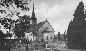 Kirche, Ansicht von Südosten, 1937