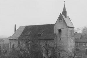 Kirche, Ansicht von Nordwesten, 1952