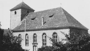 Kirche, Ansicht von Südosten, 1953