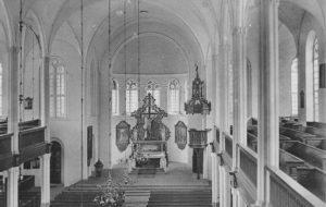 Neue Kirche, Blick zum Altar, 1933